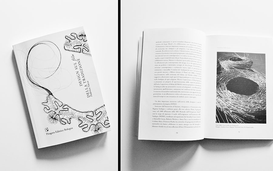 Design on the thread of tradition. A book by Federica Vacca